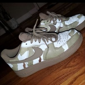 Air Force 1 Low Reflective Desert Camo Sneakers